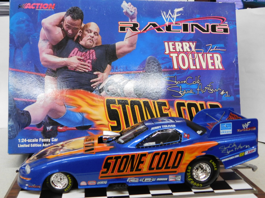 Jerry Toliver Diecast Drag Race Cars